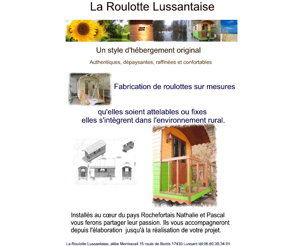 Roulotte Lussantaise
